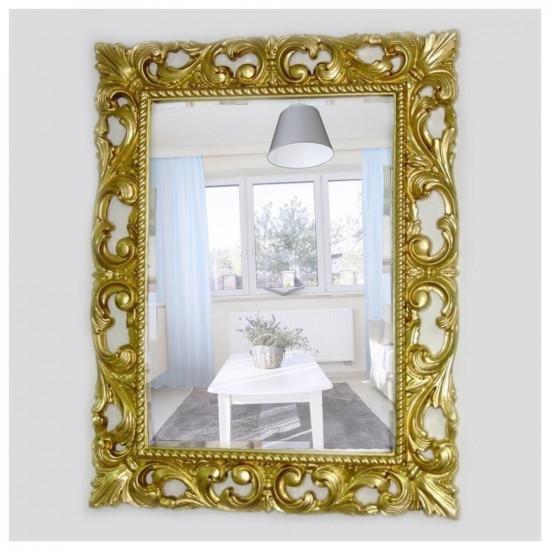 Зеркало в раме «Мэри» Золото