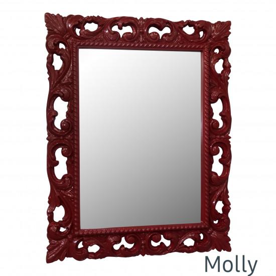 Зеркало в раме Molly Рубин в интернет-магазине ROSESTAR фото