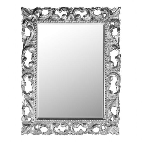 Зеркало в серебряной раме Molly Серебро в интернет-магазине ROSESTAR фото