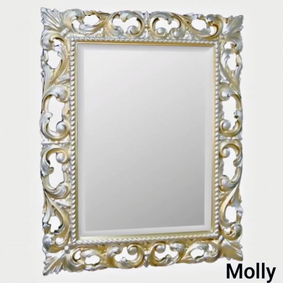 Зеркало в раме Molly Шампань в интернет-магазине ROSESTAR фото