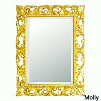 Зеркало в золотой раме Molly Золото