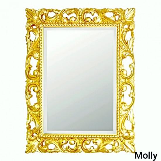 Зеркало в золотой раме Molly Золото в интернет-магазине ROSESTAR фото
