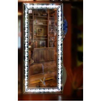 Зеркало большое напольное и настенное в полный рост с LED подсветкой Chloris