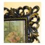 Зеркало настенное в багетной раме «Джениель» Венге с Золотом в интернет-магазине ROSESTAR фото 1