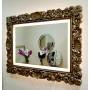 Зеркало в раме с подсветкой Ферентина Золото с патиной в интернет-магазине ROSESTAR фото 3