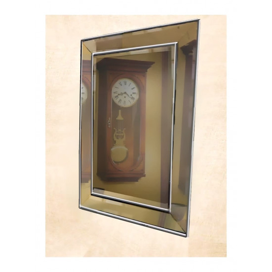 Венецианское зеркало «Пассаж» в зеркальной раме Серебро в интернет-магазине ROSESTAR фото