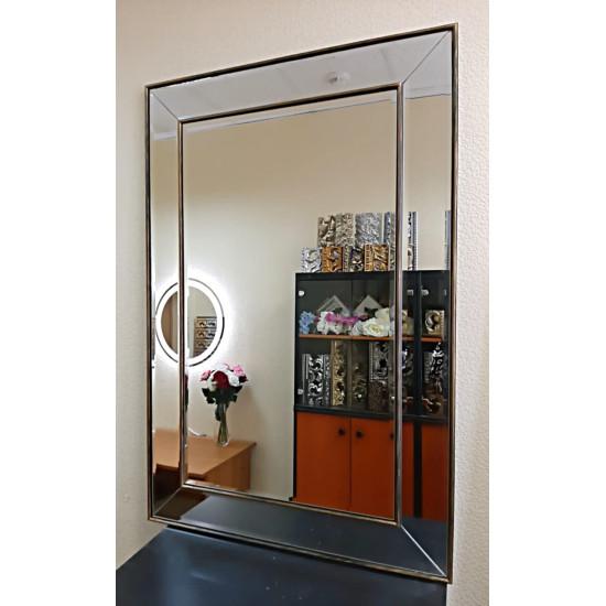 Зеркало в зеркальной раме Пассаж Бронза