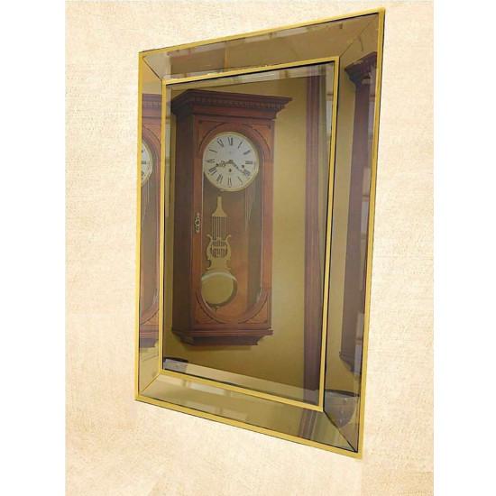 Венецианское зеркало «Пассаж» в зеркальной раме Античное Золото в интернет-магазине ROSESTAR фото