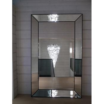 Зеркало большое напольное и настенное в полный рост в зеркальной раме «Ричард» GRAND