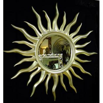 Зеркало солнце Rimini Серебро-Шампань