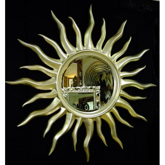 Зеркало солнце Rimini Серебро-Шампань в интернет-магазине ROSESTAR фото