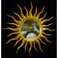 Зеркало солнце Rimini Золото