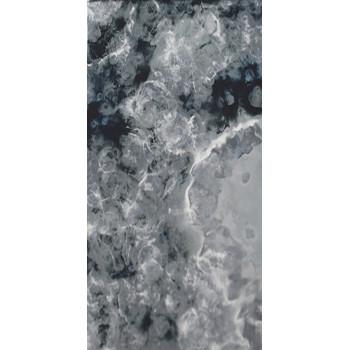 Состаренное зеркало Q-1 Серебро с черной патиной