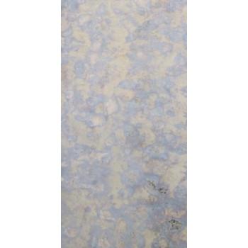 Состаренное зеркало F030-3 Серебро с фиолетово-синей патиной золотого отлива