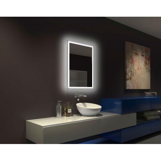 Зеркало настенное со светодиодной LED-подсветкой Galvin  в интернет-магазине ROSESTAR фото