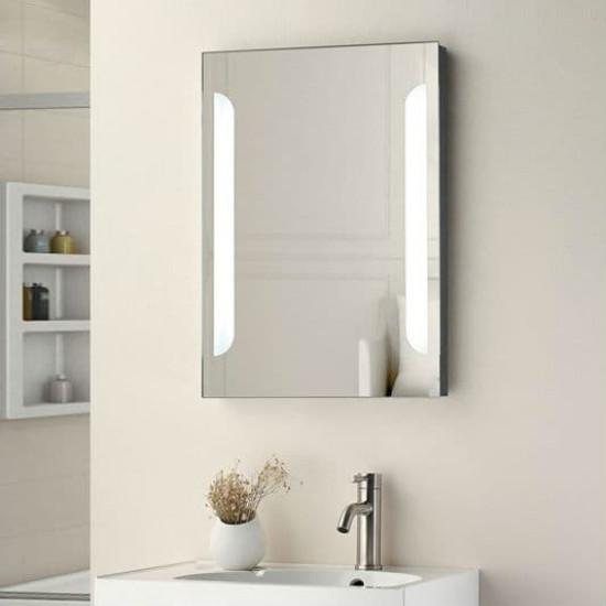 Зеркало настенное со светодиодной LED-подсветкой Скайлайн в интернет-магазине ROSESTAR фото