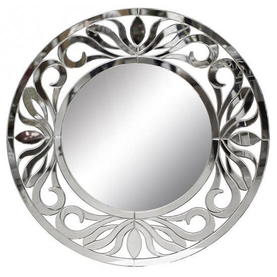 Венецианское зеркало круглое декоративное «Блеск» в интернет-магазине ROSESTAR фото