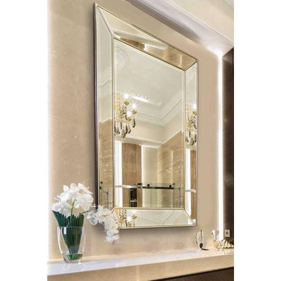 Венецианское зеркало настенное/напольное «Генри» в зеркальной раме Античное Серебро в интернет-магазине ROSESTAR фото