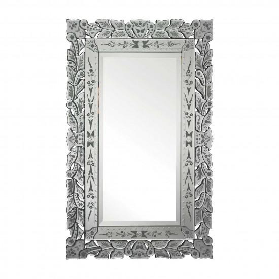 Венецианское настенное прямоугольное зеркало «Глэм»  в интернет-магазине ROSESTAR фото