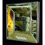 Венецианское зеркальное панно «Кристалл» Античное серебро в интернет-магазине ROSESTAR фото 1