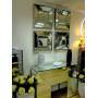 Венецианское зеркальное панно «Кристалл» Античное серебро в интернет-магазине ROSESTAR фото 2