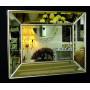 Венецианское зеркало Selfie в зеркальной раме Античное Серебро в интернет-магазине ROSESTAR фото 2