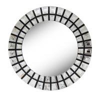 Венецианское зеркало круглое декоративное «Солнце ацтеков»