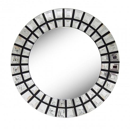 Венецианское зеркало круглое декоративное «Солнце ацтеков» в интернет-магазине ROSESTAR фото