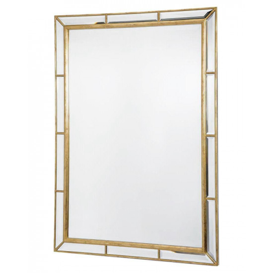 """Зеркало настенное в раме """"Велингтон"""" Золото в интернет-магазине ROSESTAR фото"""