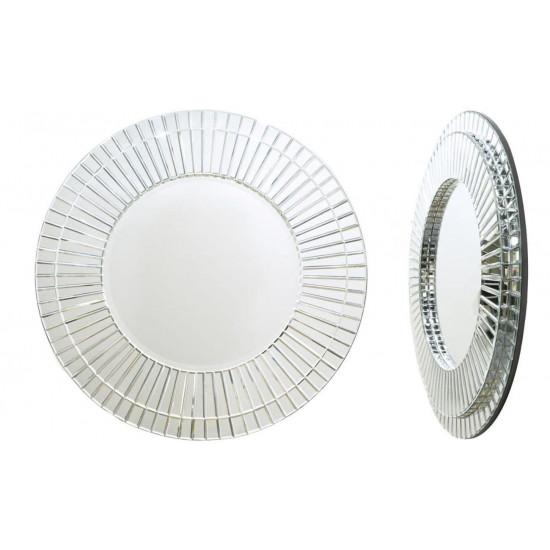 Венецианское зеркало круглое декоративное «Элегант» в интернет-магазине ROSESTAR фото