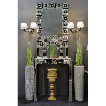 Венецианское прямоугольное декоративное зеркало «Манхэттен»
