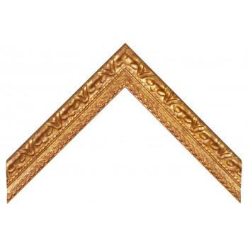 Деревянный багет Золото 0094 / P 70