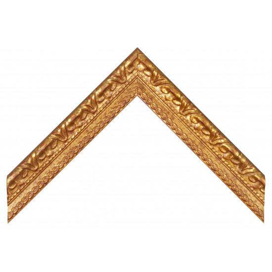 Деревянный багет Золото 0094 / P 70 в интернет-магазине ROSESTAR фото