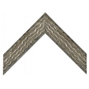 Деревянный багет Серый 061.54.075