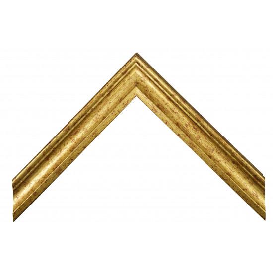 Деревянный багет Золото 068.44.031 в интернет-магазине ROSESTAR фото