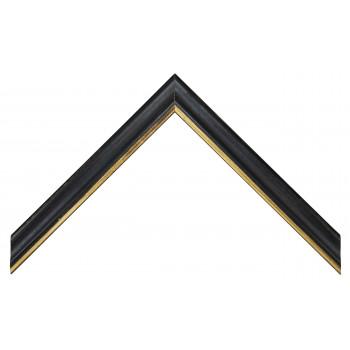 Деревянный багет Черный 13723045