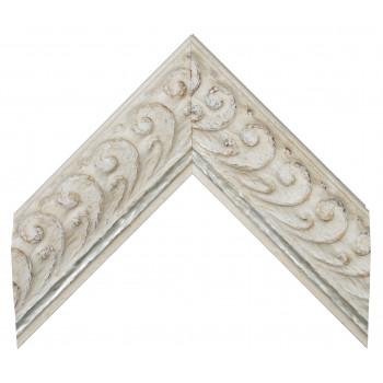 Деревянный багет Белый 14693003