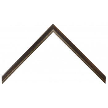 Деревянный багет Темно-коричневый 15123089