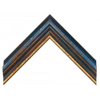 Деревянный багет Синий 18563050