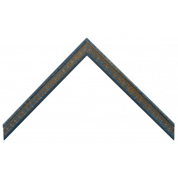 Деревянный багет Синий 26223050