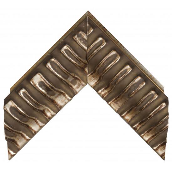 Деревянный багет Темно-серый 338.84.029 в интернет-магазине ROSESTAR фото