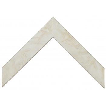 Деревянный багет Белый 339.44.048