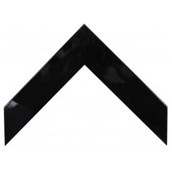 Деревянный багет Чёрный глянцевый 340.53.045