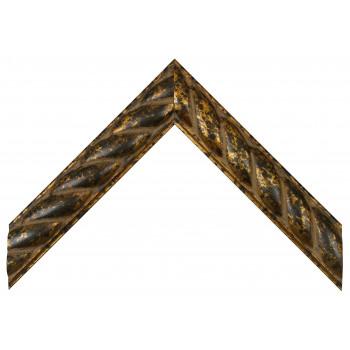 Деревянный багет Золото 349.81.251