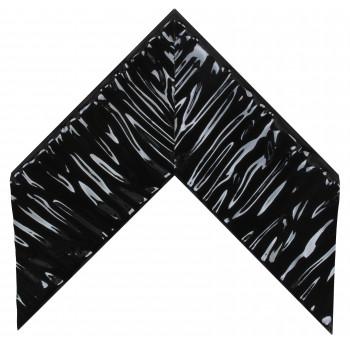 Деревянный багет Чёрный глянцевый 390.44.045