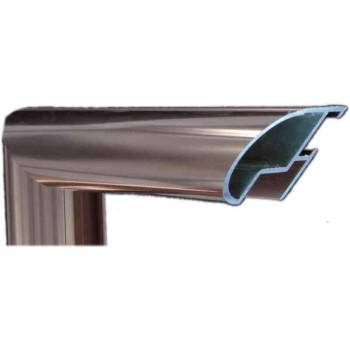 Алюминиевый багет медь 48-15