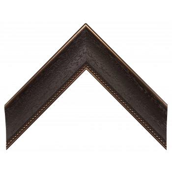 Пластиковый багет Темно-коричневый 548M-433