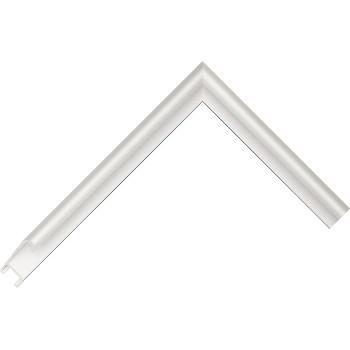 Алюминиевый багет серебро матовый 86-12