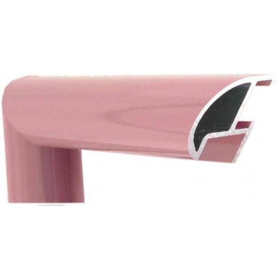 Алюминиевый багет темно-розовый блестящий 87-107 в интернет-магазине ROSESTAR фото