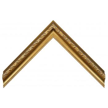 Пластиковый багет Золото 886-954